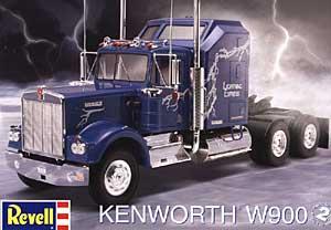 Kenworth W900 Tractor Cab [REV1507] - $24.75 : Elm City Hobbies, Hobby ...