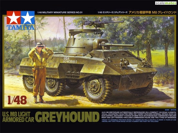 US M8 Greyhound [TAM32551] - $34 50 : Elm City Hobbies